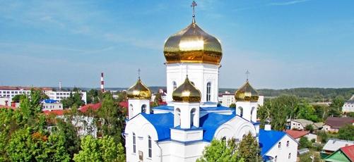 Спасо-Преображенский храм в городе Шклове