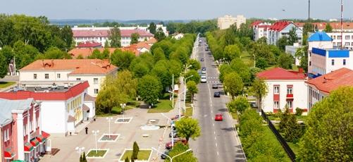 Улица Советская города Шклова